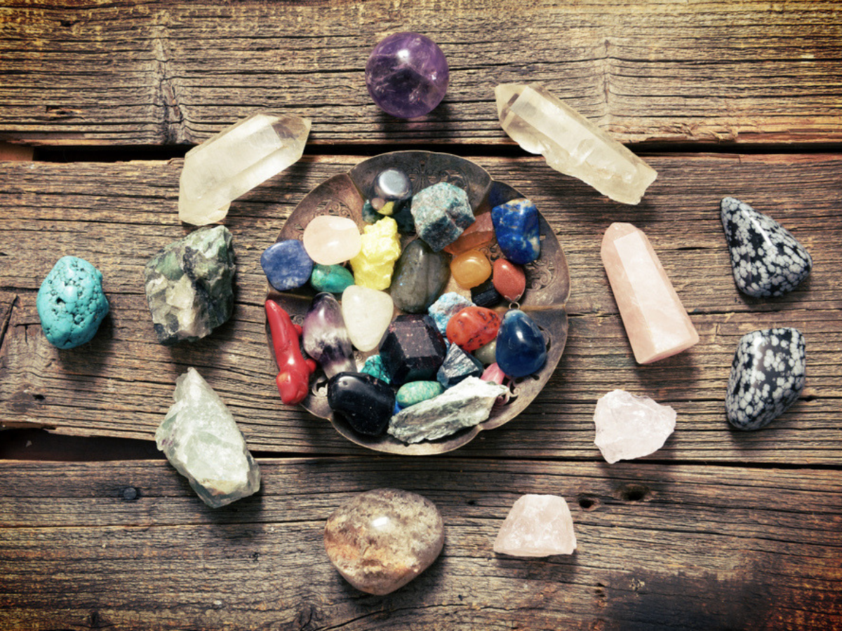 Cleansing Crystals that Keep You Strong